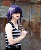 GoRiLLaZ:  Kids With Guns - Noodle by krazorspoon