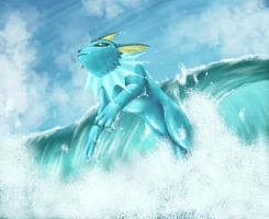 Among the Waves by Divinehearts