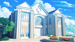 Mansion Exterior by ViridianMoon
