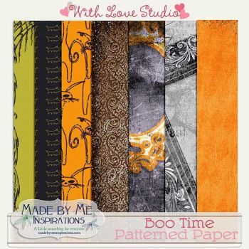 MBMI_Boo Time Patterned Papers by ravynfaire