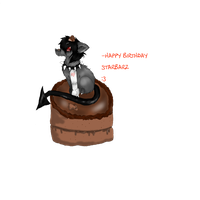 happy birthdaay ouo by DRAGOXWOLF