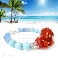 Moorea - Tropical Breeze Gemstone Bracelet by Araen