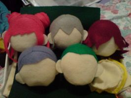 DDS Team Embryon Plush heads by WarriorOfPurgatory