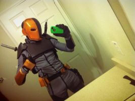 Young Justice Deathstroke progress by JKCosplay