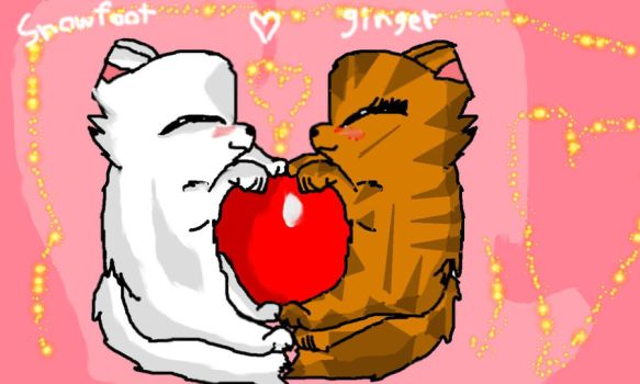 Snowfoot X Ginger by Exnicas