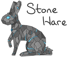 Contest Entry: Stone Hare by dino-star