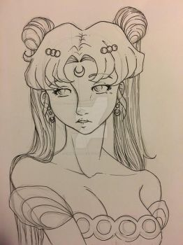 WIP Princess Serenity by xXPink-Kitten1023Xx