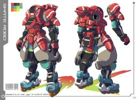 Skate King Robo 2010 by Nidaram