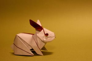 Origami Rabbit by GEN-H