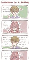 Confessing to a Fangirl by OtakuPup