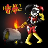 Harley Quinn the Harlequin by Fadri