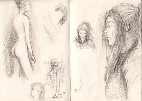 Sketchbook #1 by Wolle8890