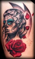 Day of Dead Portrait by illogan