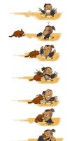 Sokka and Foofocuddlypoops by avatar-fan