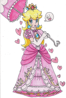 Peach Enters Brawl by LilacPhoenix