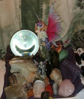 Altar of Gems ... for Inspiration. by Arielle-Lavecchia