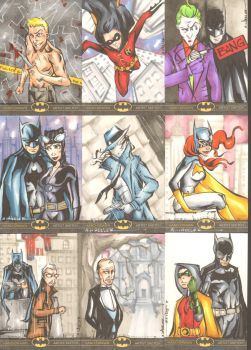 Batman: The Legend Sketchcards 3 by wheels9696