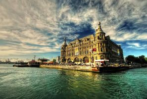 Haydarpasa Train Station by belkibirgun