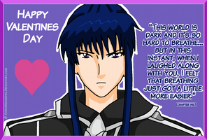 Valentines Day Card : Kanda by Sorceress2000