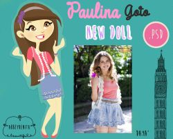 Paulina Goto Doll by AbbeyDenith