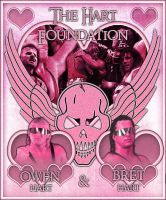 Hart Foundation Graphic by bacon111