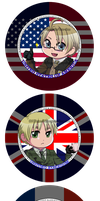 APH - Allied Powers Button Set by DATwinz