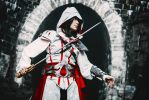 Assassin's Creed II fem!Ezio Auditore cosplay 9 by Ko-shi-patrick
