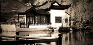 Chinese Pavilion, Huntington Library, California by debraM
