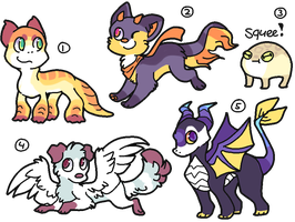 Collab Adopts! by Smushey