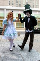 Alice and the Hatter 02 by LumLums813