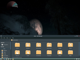 Zukida (Zukitwo Dark) Theme for Xfce Desktop by EtlesTeam