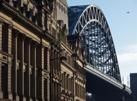 Tyne Bridge by scotto