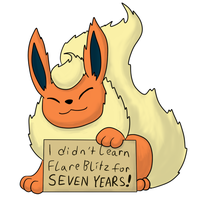 Pokemon Shaming: Flareon by theIggyness
