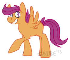 scoot by heckdog