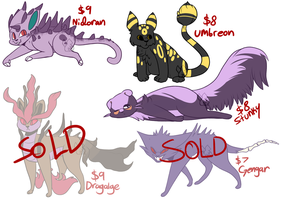 [OPEN] Pokemon Cat Adopts by MiqotesosAdopts