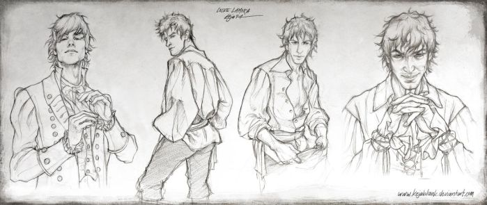 Locke Lamora - Sketches by KejaBlank
