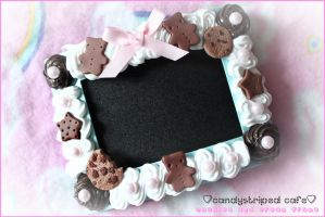 cookies and cream frame by CandyStripedCafe