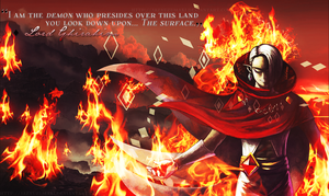 The Legend of Zelda - Ghirahim: Fire the surface by jazyuzumaki