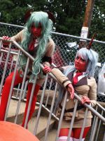 Scanty and Kneesocks IV by CookieKabuki