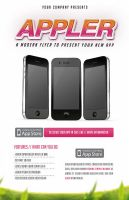Free App Flyer Template by DOMDESIGN