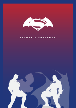 Batman V Superman by Cheetahclub84