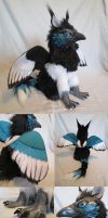 Magpie Griffin by kimrhodes