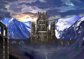 Temple of War by aresshu