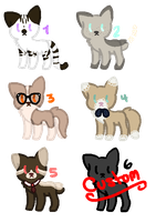 Feline Adopts {Closed} by Flovvers