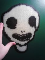 Perler White Face by ARD95