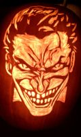 Joker Pumpkin by DistantVisions