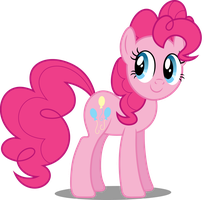 Vector #110 - Pinkie Pie #6 by DashieSparkle