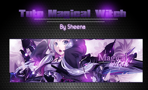 Tuto Magical witch by SheenaMai