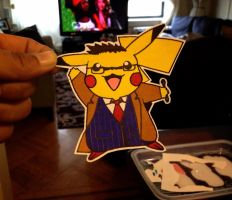 pikachu / doctor 10 (david tennant) by dance-arcadia