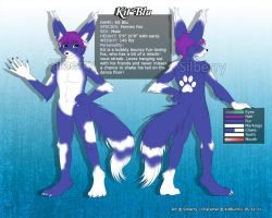 Comm: Ref Sheet - Kit Blu by Silberry